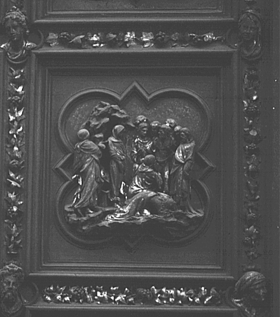 Raising of Lazarus ...  sc 1 th 239 & Images of the North Doors by Ghiberti Florence Baptistry ... pezcame.com
