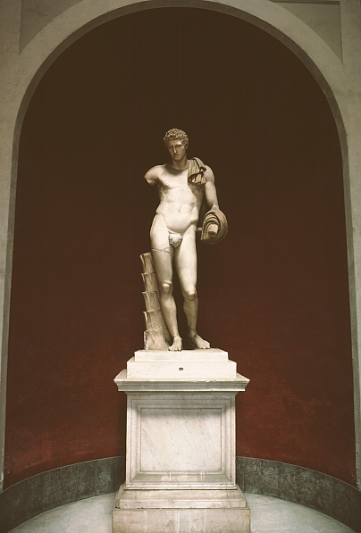 images of hermes  roman copy of a 4th century bce greek original sculpture
