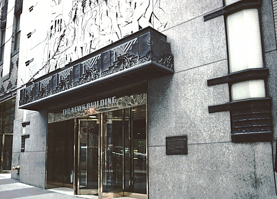 Images Of The Daily News Building New York City By Hood