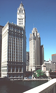 Images Of The Chicago Tribune Tower By Hood And Howells
