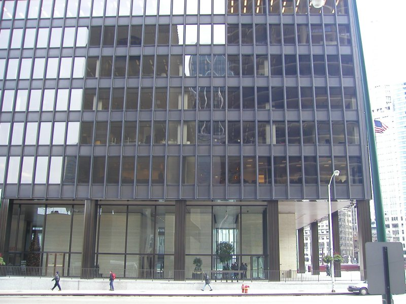 Images Of Ibm Building By Mies Van Der Rohe