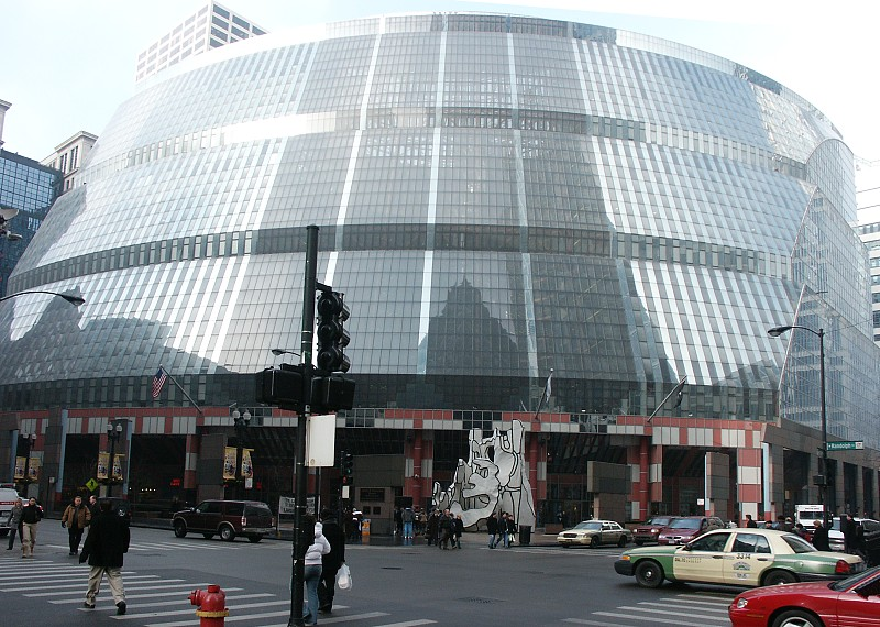 Helmut Jahn State Of Illinois Building