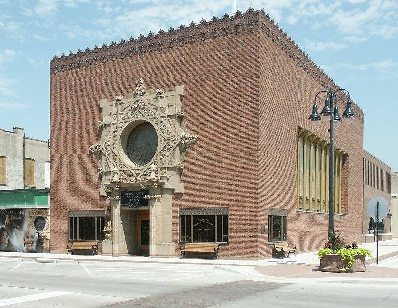 Images Of Merchants National Bank By Louis Sullivan