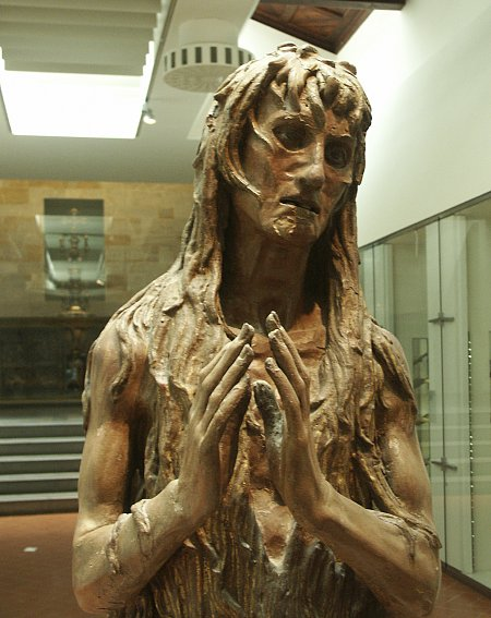 Images of Mary Magdalene by Donatello