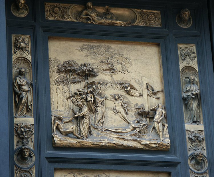 Genesis & Images of the Gates of Paradise by Ghiberti Florence Baptistry ... Pezcame.Com