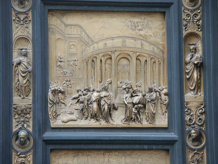 Joseph & Images of the Gates of Paradise by Ghiberti Florence Baptistry ... Pezcame.Com