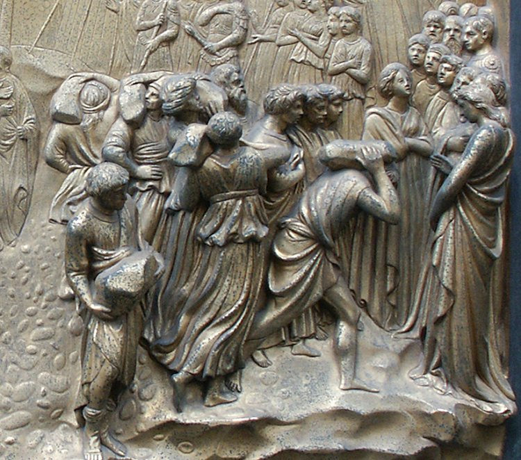 a description of ghiberti who was born as lorenzo di bartolo in florence italy Education and training lorenzo ghiberti was born as lorenzo di bartolo in 1378 in florence, italy education and training lorenzo ghiberti was born as lorenzo di.