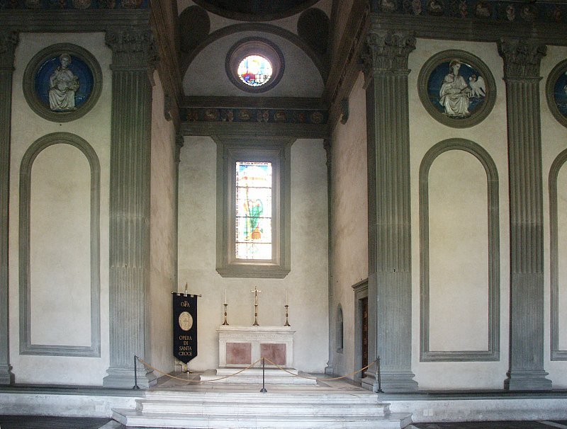 Images Of The Pazzi Chapel Santa Croce Florence By
