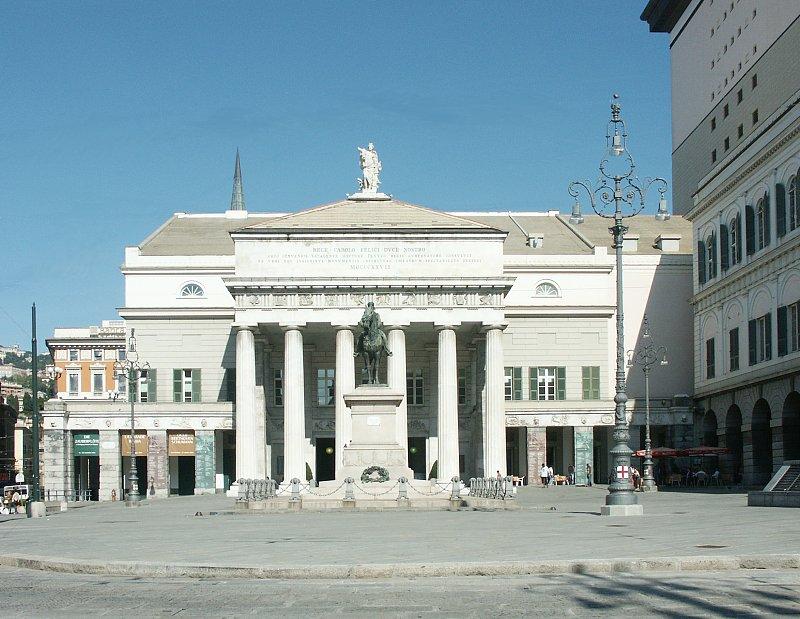 Carlo Felice Theater By Aldo Rossi
