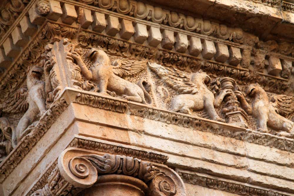 images of the nicolaci villadorata palace in noto sicily