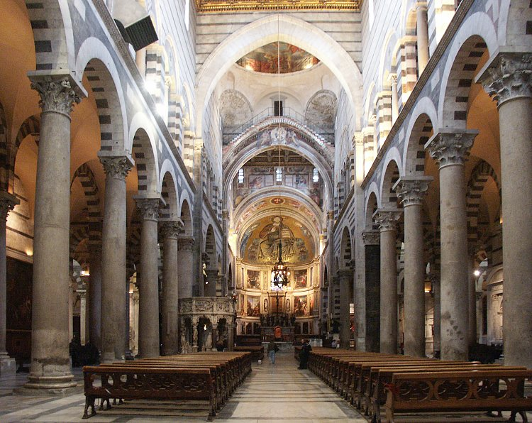 Images of Pisa Cathedral--page 2 (of two pages)