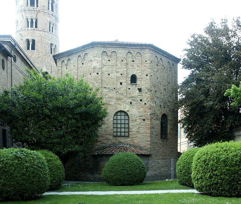 Images Of The Orthodox Baptistery Ravenna Italy