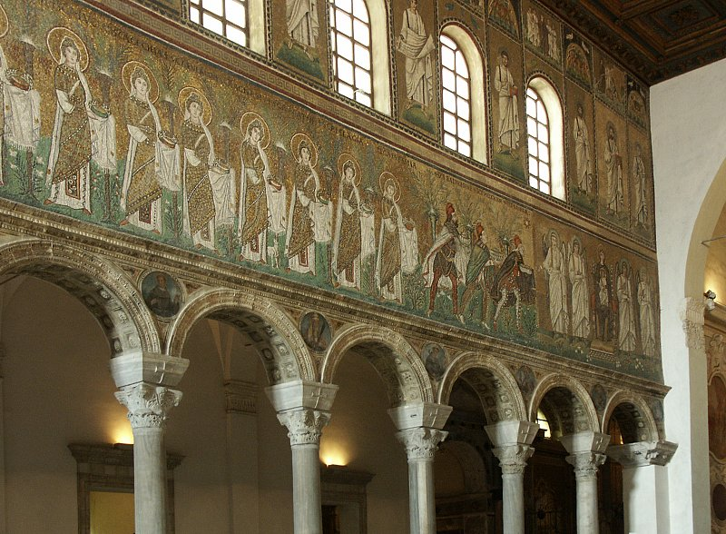 Images of Sant'Apollinare Nuovo, Ravenna, Italy