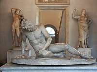 Images of Dying Gaul in the Capitoline Museums