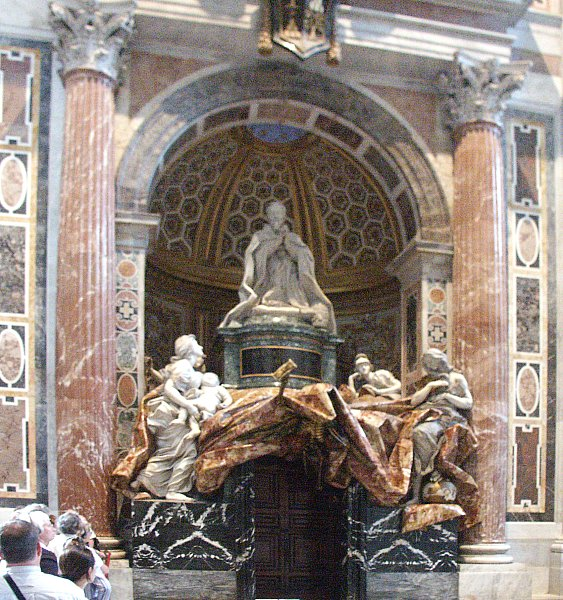 Images Of The Tomb Of Alexander Vii St Peter S By Bernini