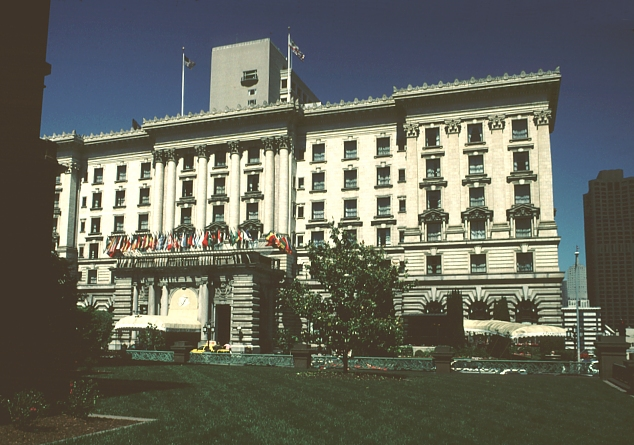 images of fairmont hotel  san francisco  california  by