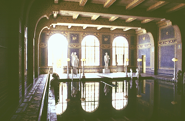 Images Of The Hearst Castle San Simeon California By