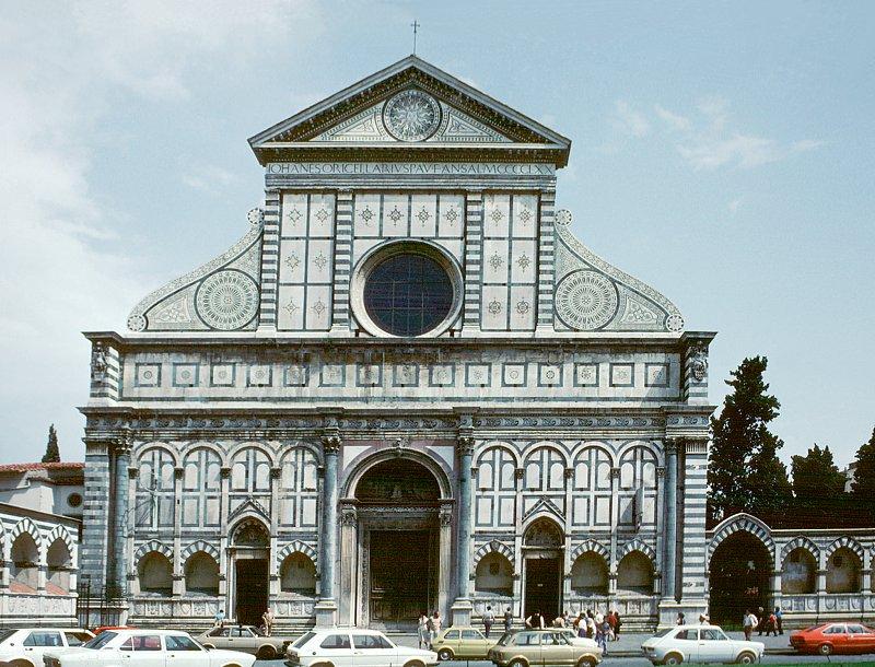 Images Of Santa Maria Novella, By Alberti, Florence, 1470