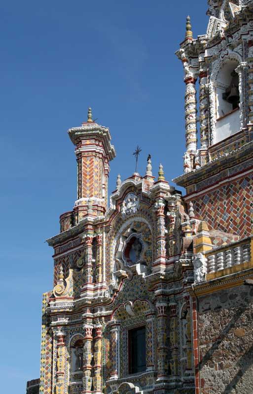 Images Of San Francisco Acatepec Cholula Puebla Mexico
