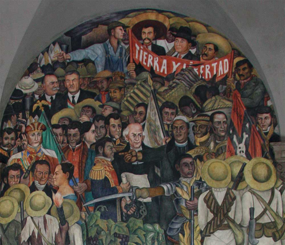 Diego rivera famous murals mexican revolution www for Diego rivera s most famous mural