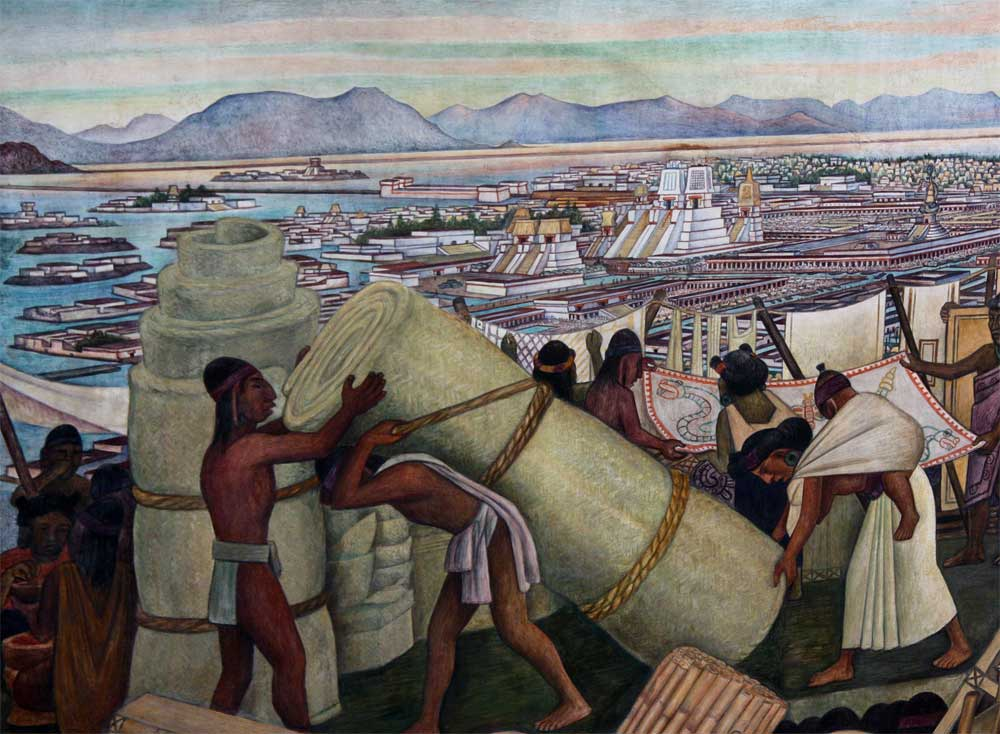Nacional: Images Of Murals By Diego Rivera In The Palacio Nacional