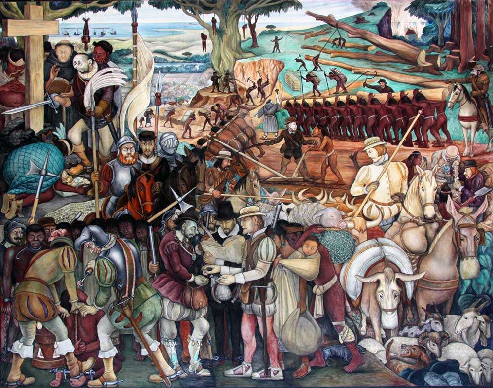 a view on the arrival of hernan cortes in mexico The state of veracruz, on the gulf coast, is mexico at its most fertile  the  conquest of mexicoon the trail of hernán cortés  the place of arrival is  celebrated with the pride of victory in mexico, where the settlers mixed  on his  way to the central plains of mexico, people take a different view of these things.