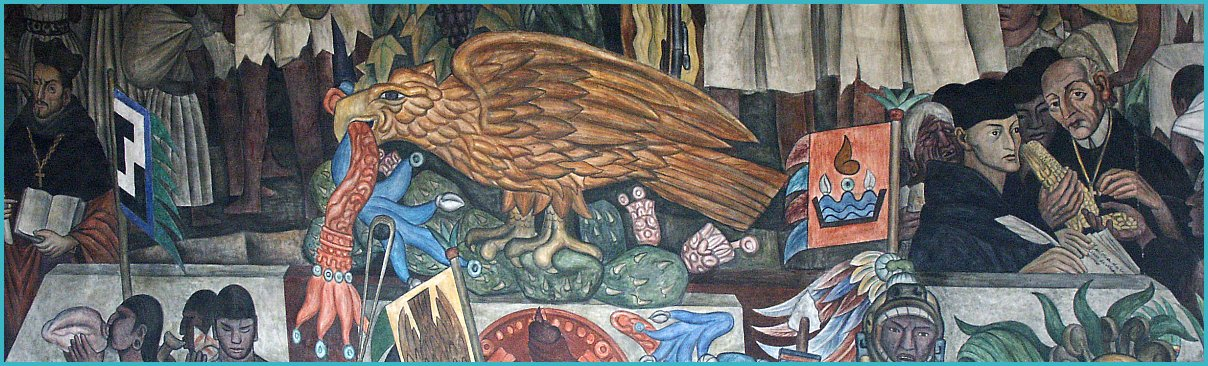 Images of murals by diego rivera in the palacio nacional for Diego rivera s most famous mural