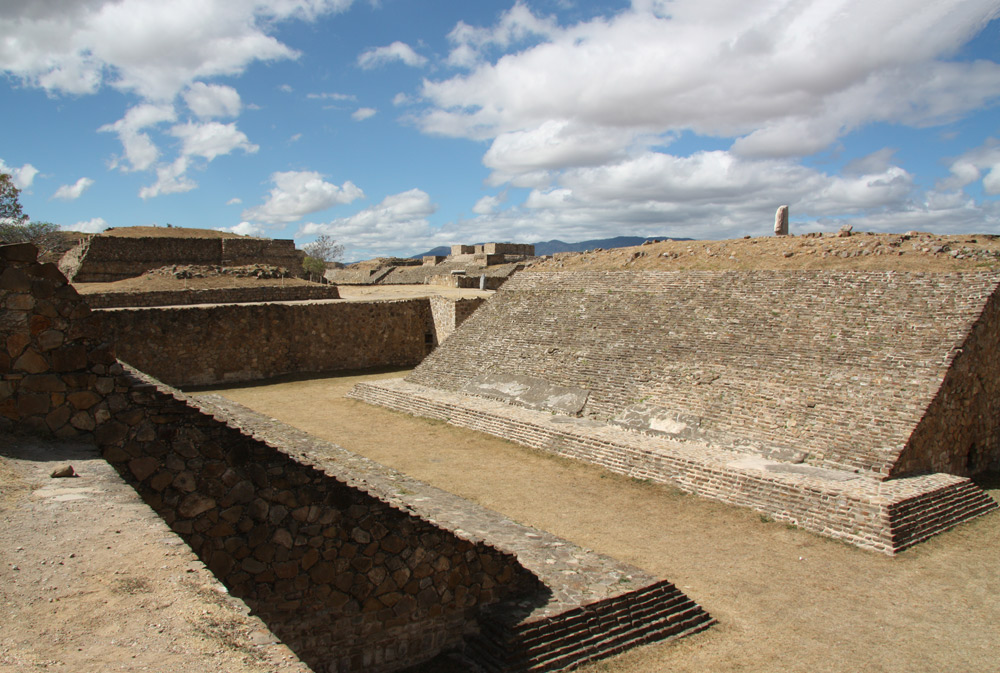 Images Of The Archaeological Ruins Of Monte Alban, Oaxaca
