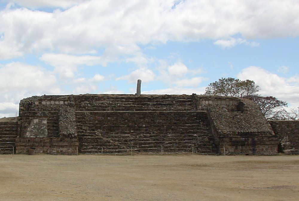 Images Of The Archaeological Ruins Of Monte Alban Oaxaca