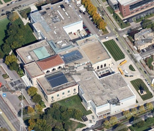 Images Of The Detroit Institute Of Arts Renovation And
