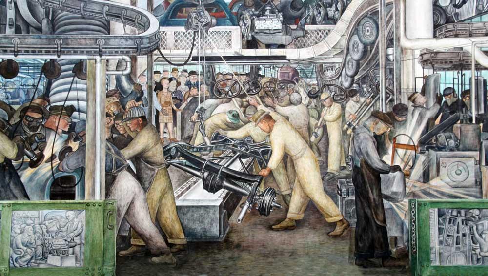 Mural De Diego Rivera Ford