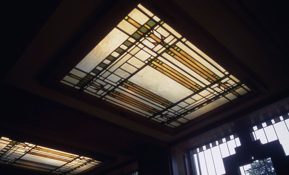 Images of the meyer may house by frank lloyd wright for Meyer may house floor plan