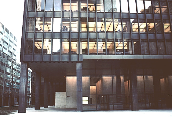 Images Of Seagram Building New York City By Mies Van Der