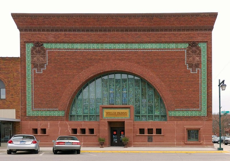 Images Of National Farmers Bank By Louis Sullivan In