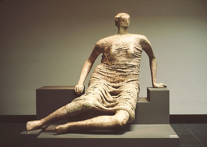 Henry Moore Draped