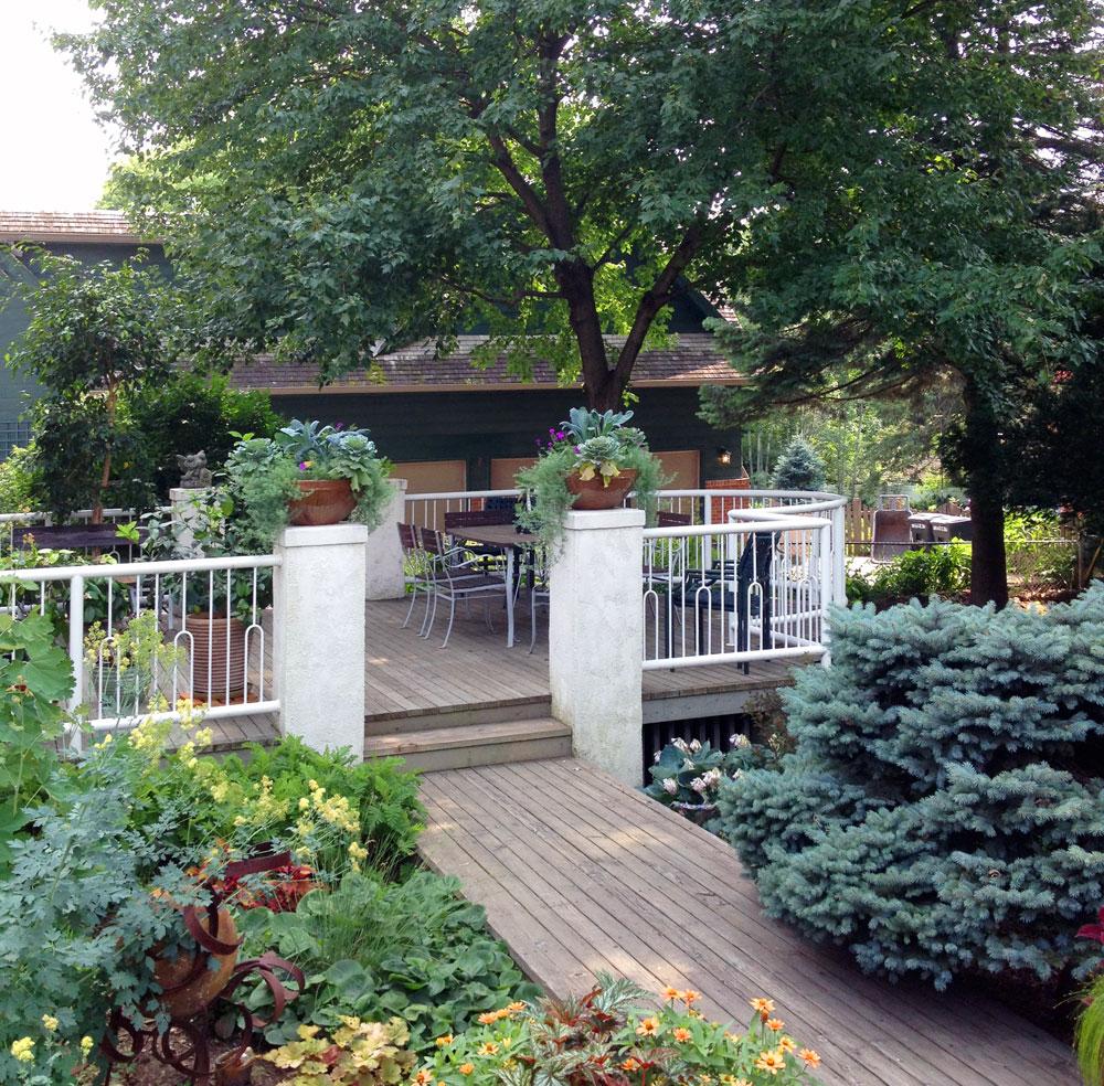 Outdoor Patio Furniture Omaha Ne: Images Of My Sister-in-law's Garden In Omaha Nebraska