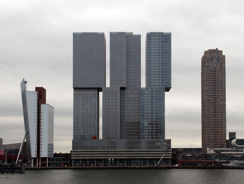 Images Of De Rotterdam By Oma Rem Koolhaas