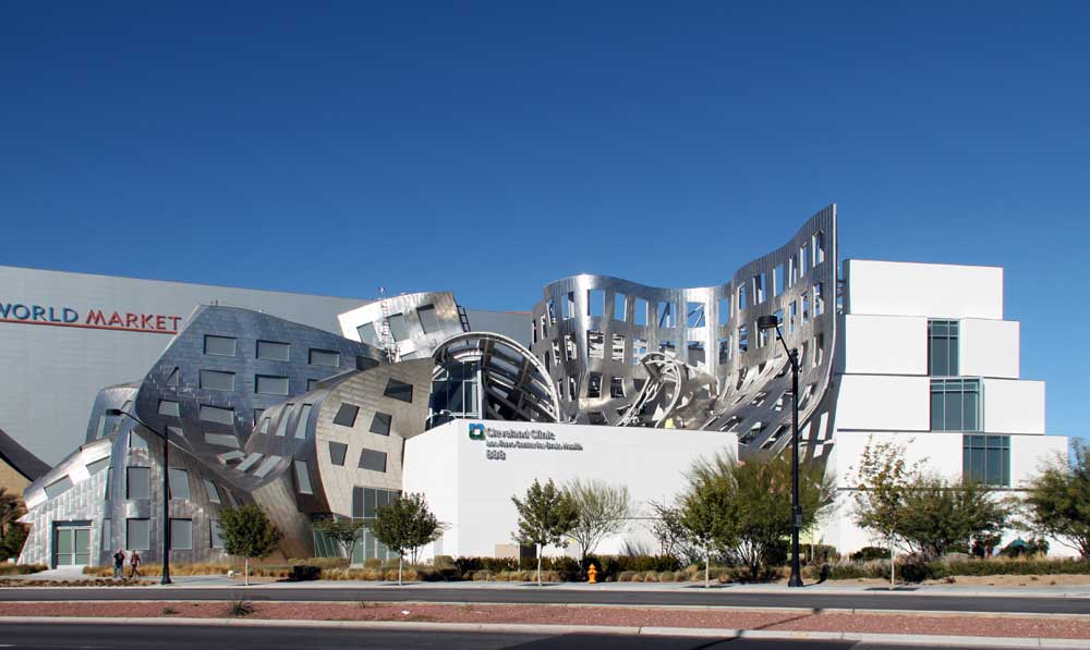 ... Lou Ruvo Center for Brain Health--page 2 (of six pages): from the east