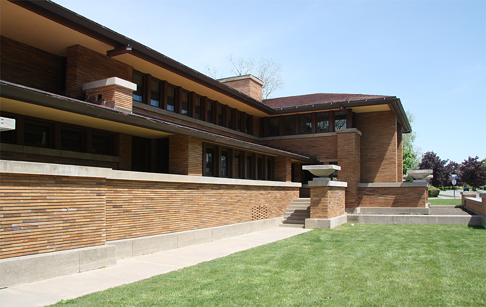 Images Of The Darwin Martin House Complex Designed By Frank Lloyd Wright