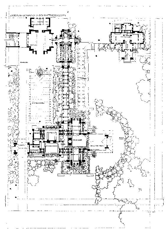 of the Martin House plex in Buffalo New York