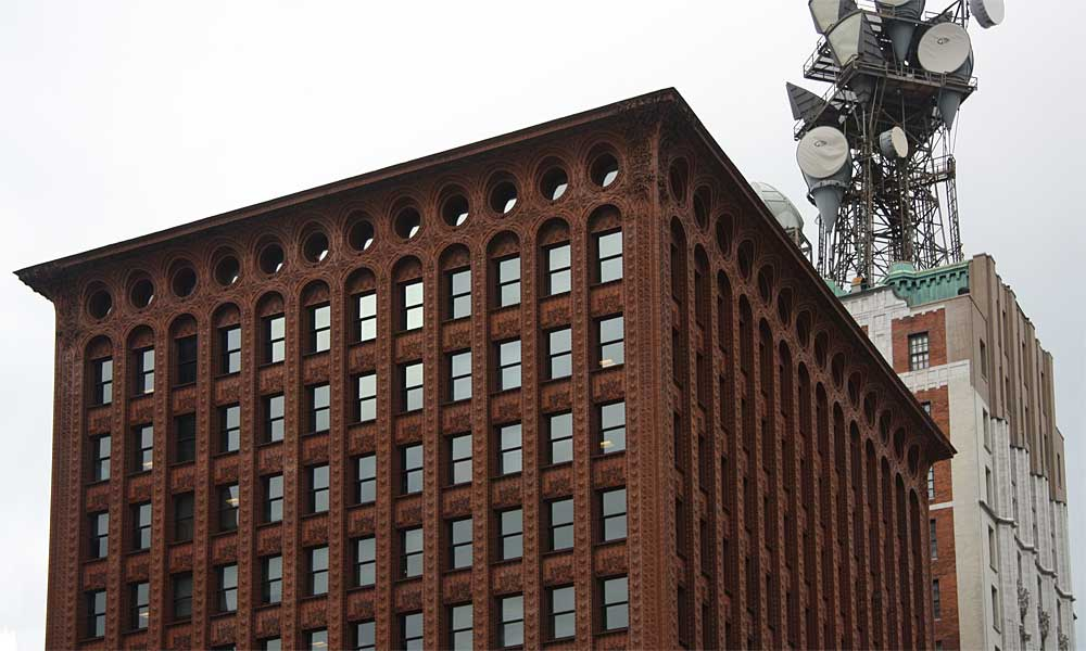 Images Of The Guaranty Prudential Building By Louis Sullivan