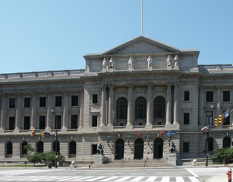 Cuyahoga County Courthouse by Lehman & Schmitt
