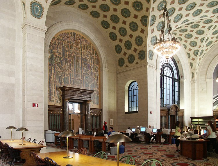 Images Of Cleveland Public Library By Walker And Weeks