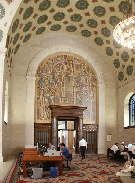 Images of Cleveland Public Library by Walker and Weeks ...