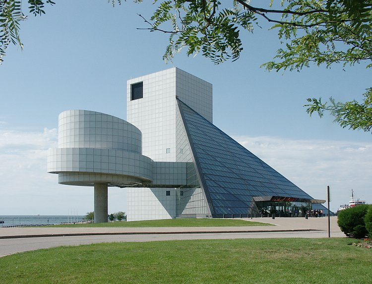 Images Of Rock And Roll Hall Fame Museum By Pei