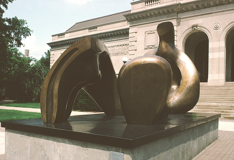 Images of sculpture at the Columbus Museum of Art ...