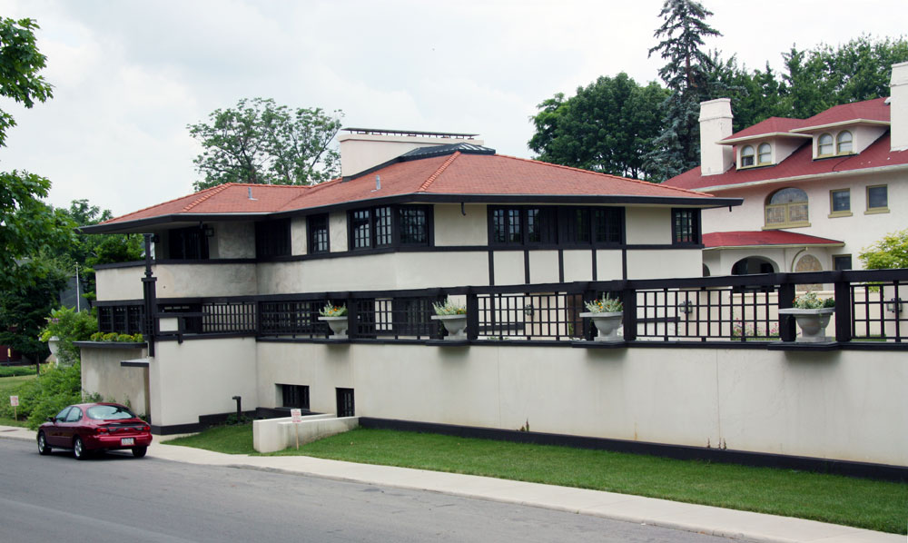 Images Of The Westcott House By Frank Lloyd Wright
