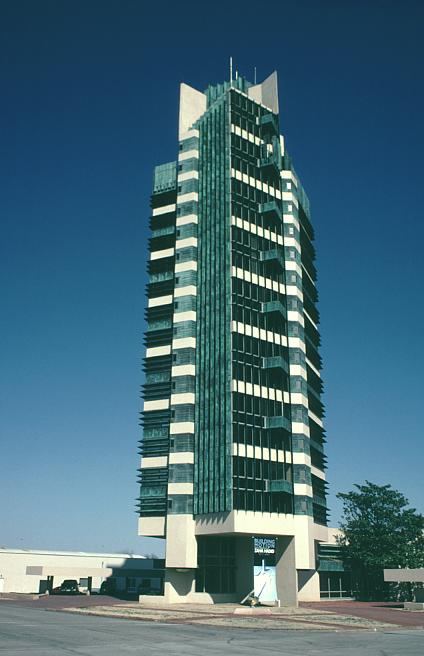 Price Tower by Frank Lloyd Wright