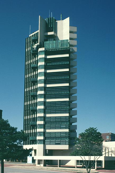 Towers frank lloyd wright and lloyd wright on pinterest for Frank lloyd wright oklahoma