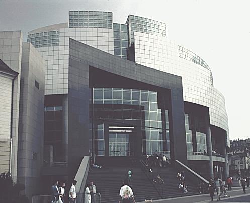 Bastille Opera House Paris France By Carlos Ott 1989